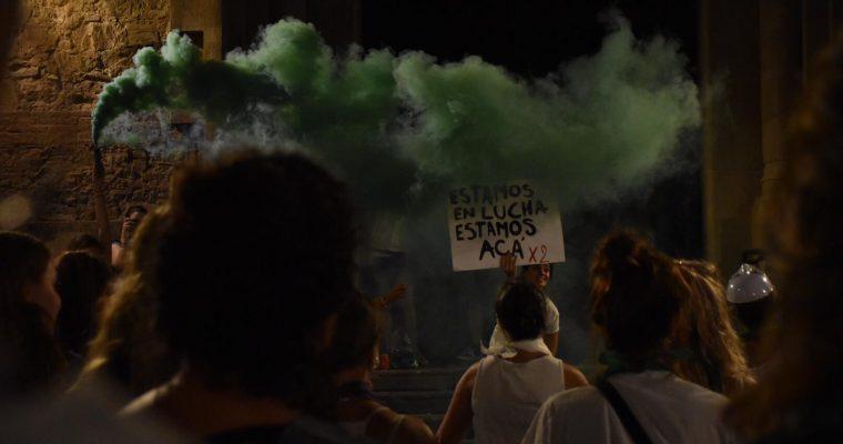 Manifestación nocturna para Fiestas de Grácia –2019